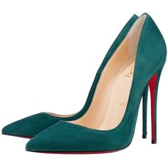 Pre-owned Christian Louboutin So Kate Forest Green Pumps ($637) ❤ liked on Polyvore featuring shoes, pumps, heels, sapatos, forest green, stiletto heel pumps, christian louboutin, high heels stilettos, stiletto pumps and stilettos shoes #pumpheels