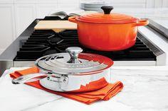 Le Creuset 3-Ply PLUS Stainless Steel Professional Sauté Pan.