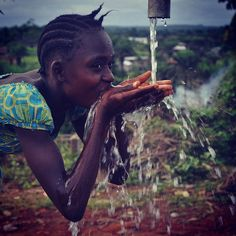 Clean water in Liberia. Voss Foundation www.thevossfoundation.org
