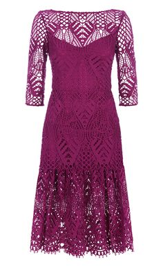 New Moon Fitted Dress
