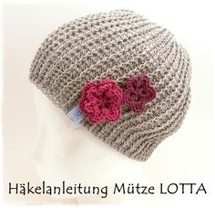 Crochet hat pattern, in german. May need to have Elfrede translate this for me =)