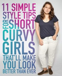 11 Simple Style Tips For Short Curvy Girls That'll Make You Look Better Than Ever #Fashion #Trusper #Tip