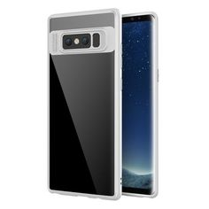 Ultra Thin Silicone Transparent Case for Samsung Galaxy Note 8 White Samsung Galaxy Note 8/ Note8 cases products shops store buy for sale  website online shopping free shipping accessories  phone covers beautiful gifts AuhaShop.com protective
