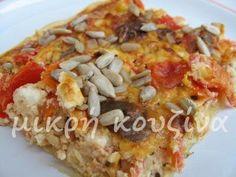μικρή κουζίνα: Ντοματόπιτα