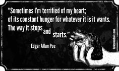 Famous horror quotes - Edgar Allan Poe