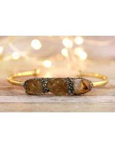 Raw Citrine November Birthstone Gemstone Bracelet Cute Jewelry, Birthstones, November, Wedding Rings, Engagement Rings, Gemstones, Unique, Bracelets