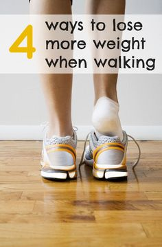 Easy walking plan to try: 4 smart ways to lose more weight when walking