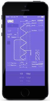 The Hague Screw Thread Calculator iPhone App