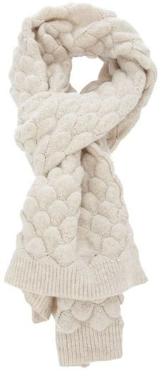MMM Textured Knit Scarf