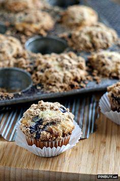 Greek Yogurt Blueberry Muffins - PinBuy