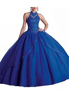 7ce7e9b9775d Suzy Bridal Women's Ball Gown Lace Beaded Tulle Sweet 15 Party Quinceanera  Dress It can be