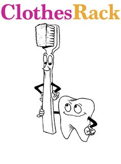 Printable Dental Coloring Pages Kids Dental Health Pinterest