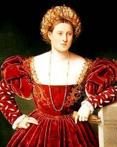 Bernardino Licinio, Portrait of a Woman, 1533, in Dresden