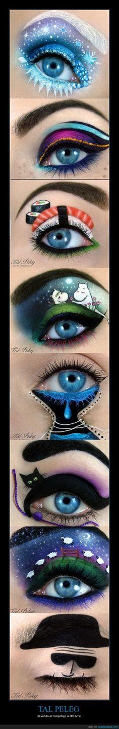 TAL PELEG - Llevando el maquillaje a otro nivel