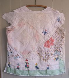 MY BONNY lovely tunic comfortably worn to a wedding, its reception, & to other events throughout the year(garden, tea or beach parties cowgirl boots & a denim jacket sweet cotton top w/ & embroidery White / ecru
