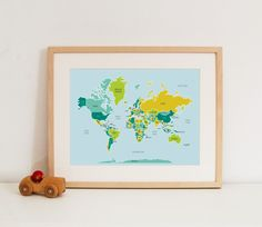 Perfect map for Hartbaby's nursery