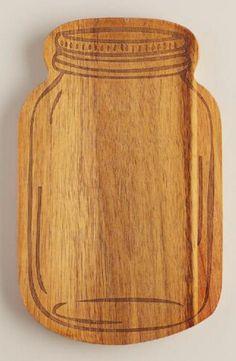 New kitchen tile scandinavian cutting boards 30 Ideas Mason Jars, Canning Jars, Mason Jar Crafts, Mason Jar Kitchen Decor, Rustic Living Decor, Fixer Upper, Diy Kitchen Lighting, Decor Scandinavian, Boards
