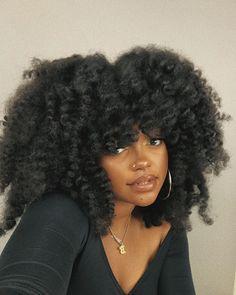 Natural Hair Inspiration, Natural Hair Tips, Natural Hair Styles, Natural Curls, Black Girls Hairstyles, Afro Hairstyles, Ethnic Hairstyles, Pretty Black Girls, Black Girl Aesthetic