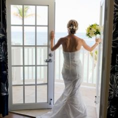 A sweet Key West wedding with a tent on the beach, beautiful dock, and great moments