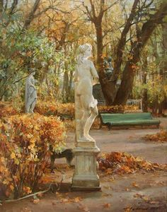 "Saint Petersburg by Azat Galimov. The Summer Garden_Галимов Азат. ""Летний сад""."