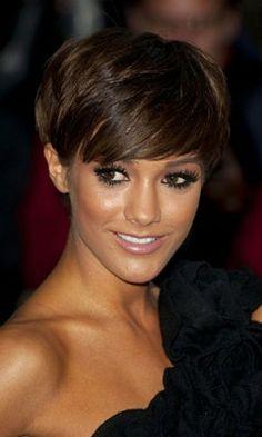 Frankie Sandford Short Hairstyles 2014. #celebrityhaircuts, #shorthairstyles, #haircuts2014, #hairstyles2014, #womenshairstyles