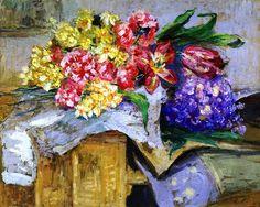 Flowers - Edouard Vuillard - circa 1910