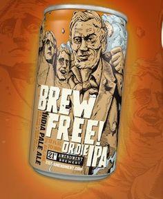 Brew Free or Die - 21st Amendment Brewery SF