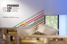 Porcelanosa Grupo colabora con los premios CDICV 2014 en Valencia #Porcelanosa #Krion Colegio de Diseñadores de Interior de la Comunidad Valenciana