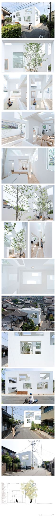 House N Architect: Sou Fujimoto Location: Oita, Japan Year built: 2007-2008