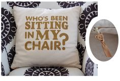 Who's been sitting in my chair???