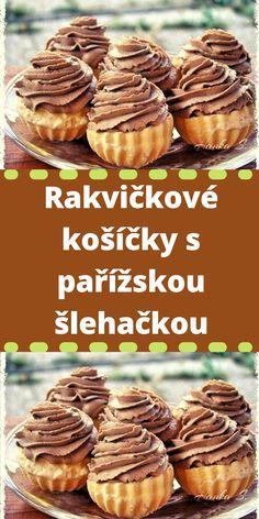 Yami Yami, Air Fryer Dinner Recipes, Czech Recipes, Tiramisu, Good Food, Food And Drink, Cooking Recipes, Pie, Sweets