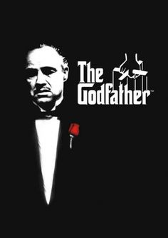 Filme: The Godfather (O Poderoso Chefão, 1972). Direção: Francis Ford Coppola. Elenco: Marlon Brando, Al Pacino, James Caan.