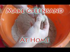 How to Make Greensand For Casting And Greensand Molds - YouTube
