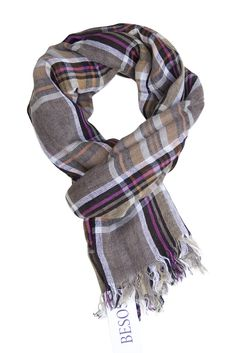 #Checked #scarf in fresh colour combination