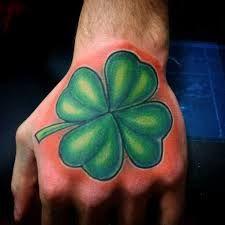 60 Four Leaf Clover Tattoo Designs For Men - Good Luck Ink Ideas Four Leaf Clover Tattoo, Clover Tattoos, Irish Leprechaun, Shading Techniques, Hand Tattoos For Guys, Four Leaves, Day Makeup, Good Luck, Tattoo Designs Men