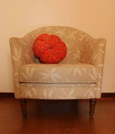 Almofada flor 003 Ø30x15cm