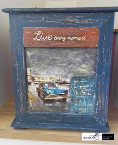 Fb:evarte χειροποιητες δημιουργιες Art Work, Decoupage, My Arts, In This Moment, Frame, Vintage, Home Decor, Artwork, Picture Frame