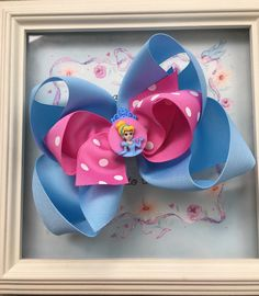 Excited to share this item from my shop: Cinderella Hair Bow Princess Hair Bow Cinderella Birthday Bow Cinderella Party Favors 6 inch Hair Bow Girls Hair Bows Big Hair Bows Cinderella Party Favors, Cinderella Hair, Cinderella Birthday, Disney Hair Bows, Princess Hair Bows, Large Hair Bows, Princess Hairstyles, Boutique Hair Bows, Girl Gifts