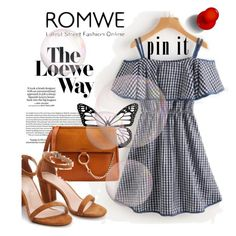"""""""ROMWE 5/XIV"""" by saaraa-21 ❤ liked on Polyvore featuring Loewe, romwe, shop and polyvorefashion"""