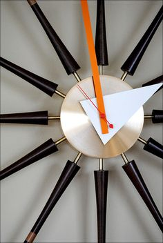 1950s George Nelson Spindle Clock by American Vintage Home, via Flickr