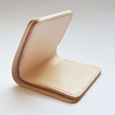 Bifold women leather wallet womens walletsmall by Vplus on Etsy