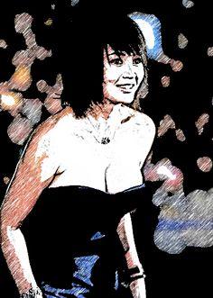 Kim Hye-Soo #Kdrama Actress cartoonized pictures http://www.akiatalking.com/2016/02/kim-hye-soo-kdrama-actress-pics.html …
