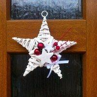 Zboží prodejce Envioshop / Zboží | Fler.cz Christmas Love, Christmas Ornaments, Beaded Ornaments, Quilling, Wreaths, Knitting, Holiday Decor, Home Decor, Ideas