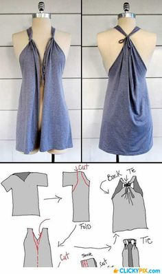 16 DIY Clothing Refashion IdeasPositiveMed | Stay Healthy. Live Happy