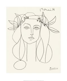 """Love, love, love this! Picasso's """"Head"""""""
