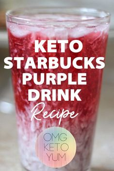 Zero Carb Starbucks Copycat Purple Drink is perfect for summer. Caffeine free keto bulletproof drink that will impress your friends! This zero Carb Energy drink is perfect for keto beginners. Start your keto diet out right with this easy zero carb recipe. Easy Zero Carb Recipes, Keto Recipes, Keto Foods, Crockpot Recipes, Atkins Recipes, Keto Friendly Desserts, Low Carb Desserts, Starbucks Purple Drink, Passion Fruit Tea