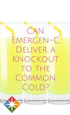 Spark It or Scrap It: Is Emergen-C a Cold Knockout? Should you take Emergen-C when you feel a cold coming on?  | via @SparkPeople