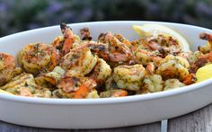 Grilled Pesto Shrimp - Once Upon a Chef