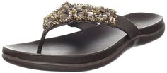 Kenneth Cole REACTION Women's Glam-a-thon Flat Sandal * Tried it! Love it! Click the image. : Sandals