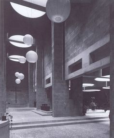 Aldo van Eyck. Roman Catholic Church. The Hague, 1964-69.